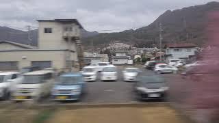 テクノさかき~西上田駅、しなの鉄道線、進行方向左側車窓から