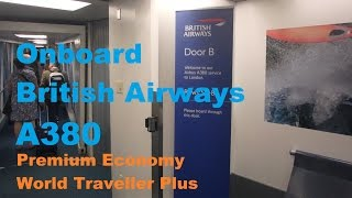 BA | Onboard A380 Inaugural Vancouver to London YVR-LHR