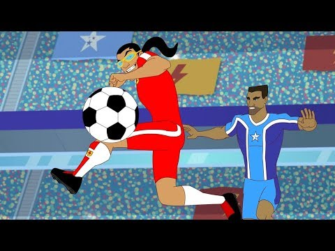 Supa Strikas Full Episode Compilation | Cheer And Loafing In Las Vegas | Soccer Cartoons For Kids