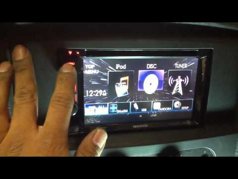 2002-2005 Dodge Ram. Kenwood Touchscreen 7