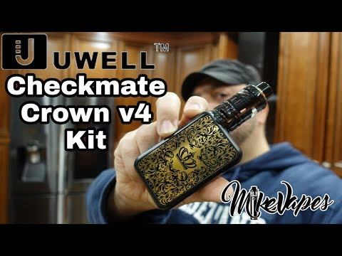 Uwell Crown IV Mod & Mesh coils - Chain Vaping them at 105W!!!!