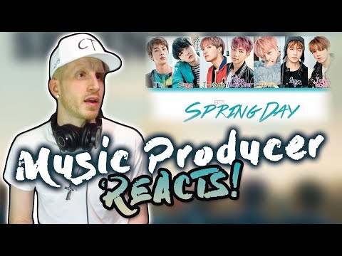Music Producer Reacts to BTS - Spring Day!!!