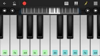 Perfect piano:gugur bunga. Ingat lagu perjuangan lur