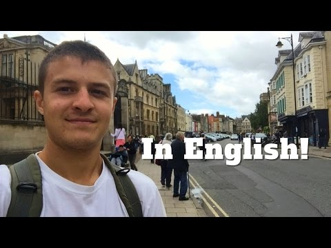 Vlog UK #55 - A day in Oxford [English]