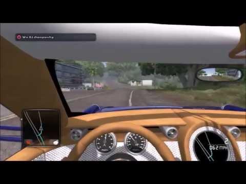 Test drive unlimited 2 Drive and Race B3 class spyker D8 peking to paris vs A1 class maseratti