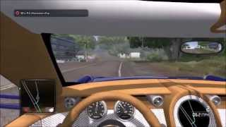 Test drive unlimited 2 Drive and Race B3 class spyker D8 peking to paris vs A1 class maseratti