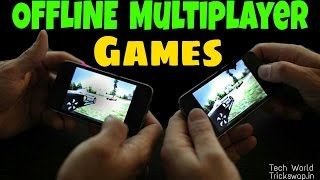 Top 10 Best OFFLINE Multiplayer Games on Android via Wifi - Without Internet