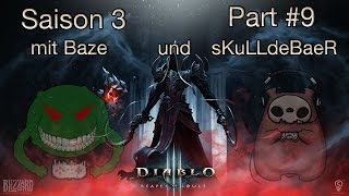 Diablo 3 RoS - Season 3 | #9 Magda, erste Game Over und Adria | Baze&sKuLL plays