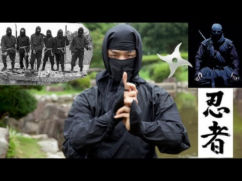 Thumbnail: NINJA Ninjitsu - Timeless Assassins in Black: Parkour, Stealth, Training, Weapons!