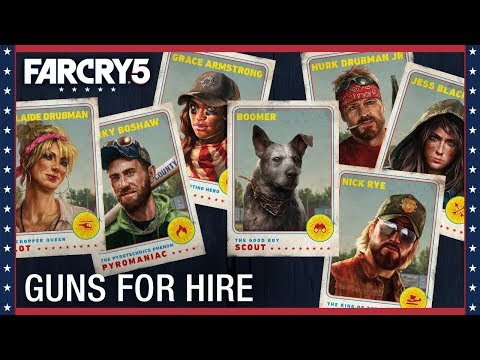 Far Cry 5: Gun For Hire Compilation | Ubisoft [US]