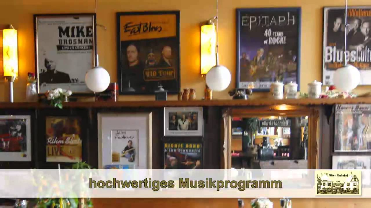 restaurant hannover livemusik hannover deutsche k che hannover alter bahnhof anderten youtube. Black Bedroom Furniture Sets. Home Design Ideas