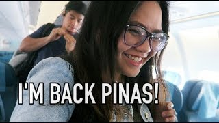 VACAY DXB TO MANILA FLIGHT Philippine Airlines August 2 3 2018