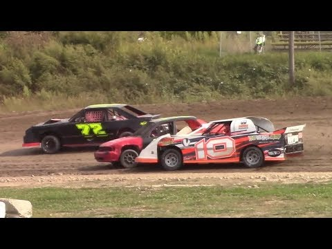 Mini Stock Heat Three | Genesee Speedway | 9-17-17