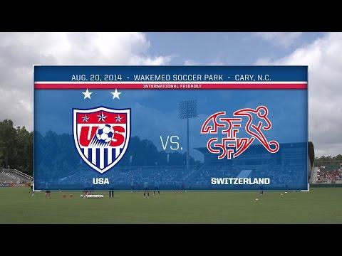WNT vs. Switzerland: Live Stream - Aug. 20, 2014