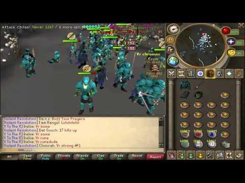 Jagex Cup 2012 Final - Violent Resolution vs. Divine Forces with Teamspeak