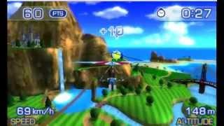 PilotWings Resort 3D Gameplay {Nintendo 3DS} {60 FPS} {1080p} Top Screen