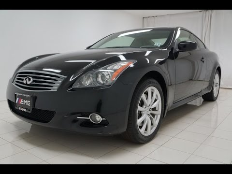 2012 Infiniti G37 Coupe X Awd For Sale Nj Youtube