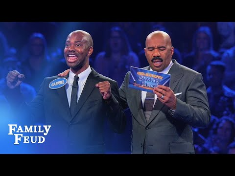 Taye Diggs' Family plays Fast Money!  Celebrity Family Feud
