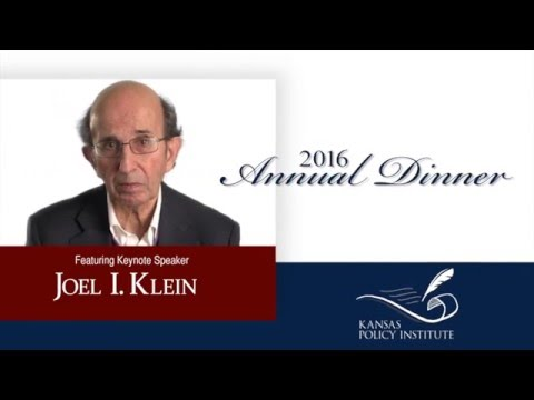 Kansas Policy Institute 2016 Annual Dinner