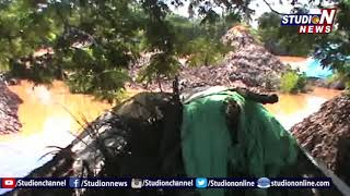 Red Cannal Over Flows Due To Heavy Rains In West Godavari | People Facing Problems | Studio N