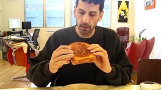 Fried Egg, Pepperoni, Cheese Sandwich