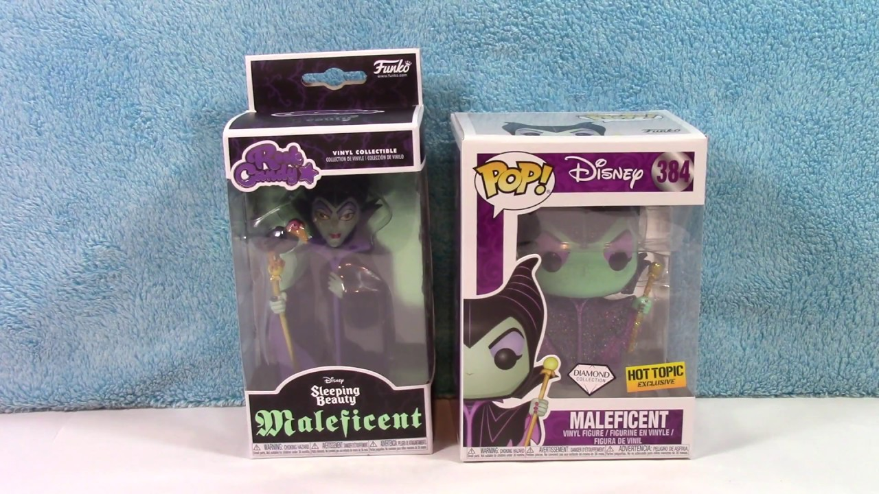 Maleficent GITD Rock Candy Figur Disney