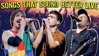 7 Songs That Sound Better Live (VS Studio Version)
