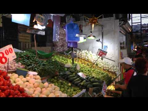 Mercado Central Cuernavaca Mexico 1080 50p Full HD