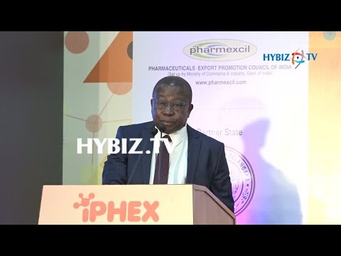 Ghana Health Minister Agyeman Manu Kwaku | IPHEX 2017 Exhibition Hyderabad | hybiz