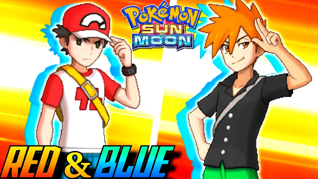 red and blue in sun and moon -#main