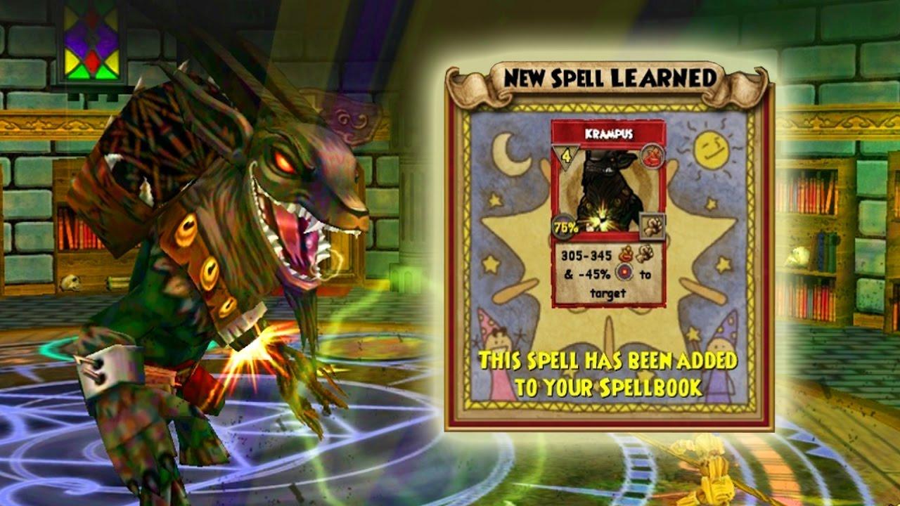 Wizard101 Crafting Krampus Youtube