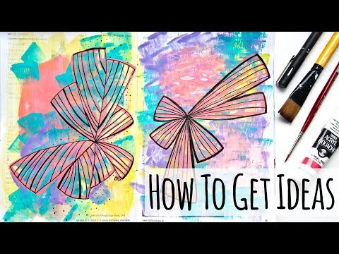 Where Do You Get Your Ideas? Tips For Artists and Crafters