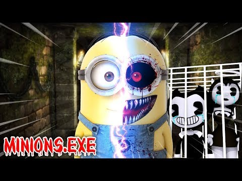 Minecraft EVIL MINIONS .EXE - EVIL MINIONS .EXE WAS CREATED AND TOOK OVER BENDY AND THE INK MACHINE