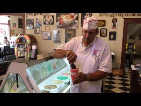Frank Jackson creates a nectar soda.