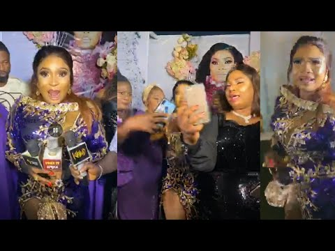 Download SAD! Actress Laide Bakare In Tears At Her Birthday Party...Lots of Quarrels Within