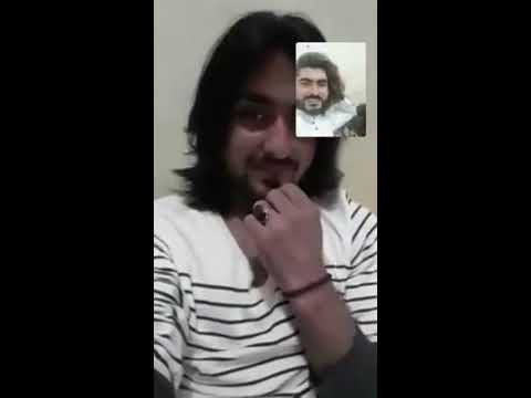 Naqeeb Ullah masood Last Live Video call with  a friend
