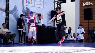 Uli vs Moe [1on1 B-Girl Battle 06/06 | Group B Top16] ► TAIPEI BBOY CITY ◄ 2017