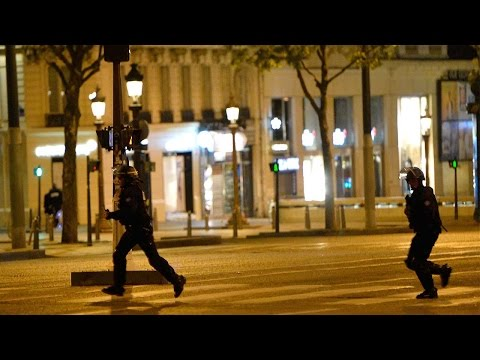 Paris shooting disrupts French presidential election campaign