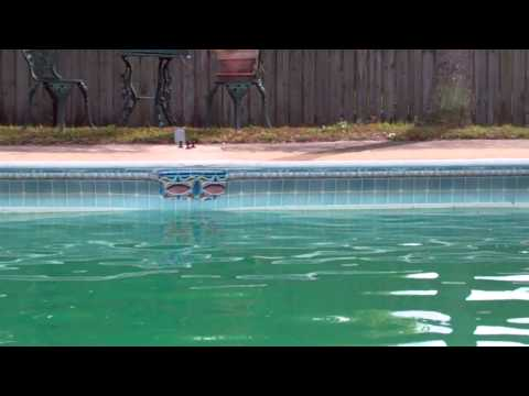 Mark & Kim Limmer Vinyl Pool Liner repair video for Tower Hill 11 16 13