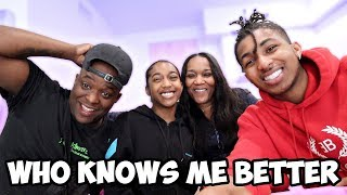 Who Knows Me Better? DDG vs. Tee Tee vs. DuB | Mom & Kids
