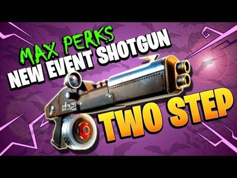 LVL130 RATROD TWO STEP SHOTGUN | Fortnitemares Event | Fortnite Save The World Weapon Review