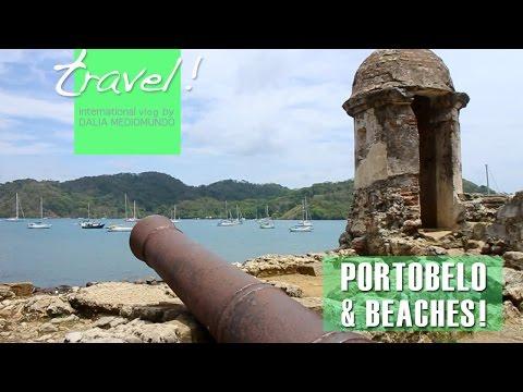 Panama travel: Portobelo Fort ruins & Colón dock beach