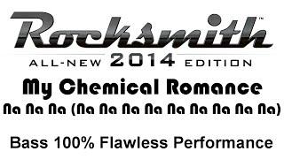 """My Chemical Romance """"Na Na Na (Na Na Na Na Na Na Na Na Na)"""" (Rocksmith 2014 bass 100%) pick"""