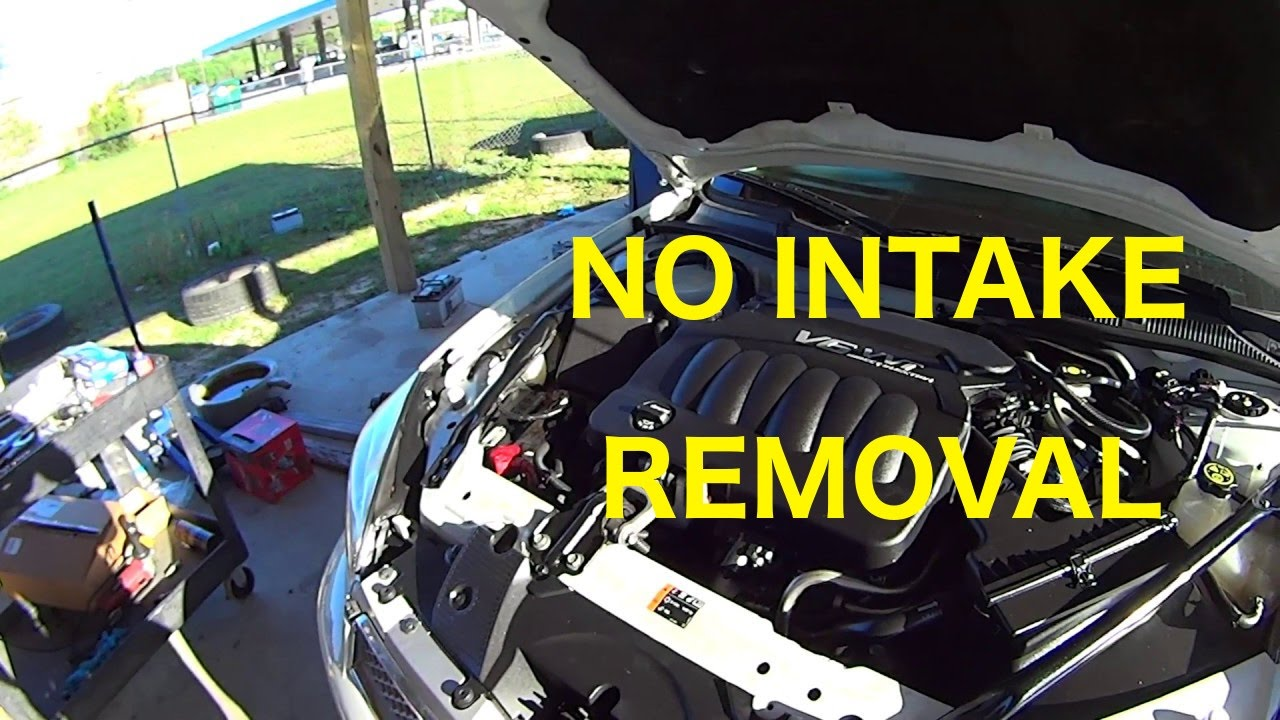 How To Replace Spark Plugs On 3 6l V6 Impala Malibu