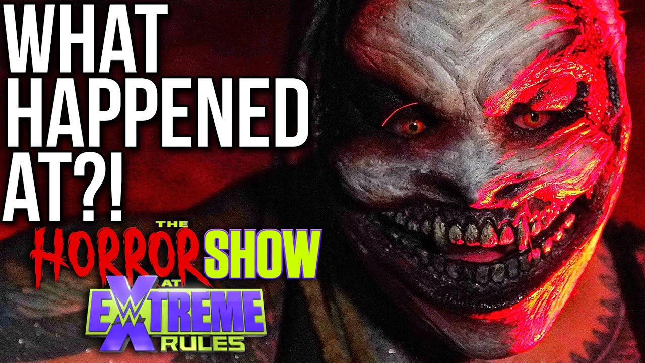 The Horror Show at Extreme Rules: The Fiend rules the swamp ...