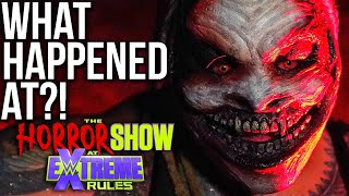 What Happened At WWE Extreme Rules 2020: The Horror Show?!