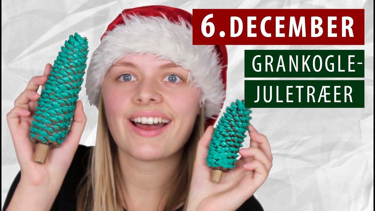 Lav selv JULETRÆ af grankogle - DIY | 6. December