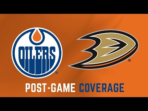 ARCHIVE | Post-Game Coverage - Oilers at Ducks - Game 1