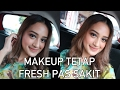 MAKEUP WAJAH FRESH WALAU LAGI SAKIT | FRESH FACE MAKEUP TUTORIAL FOR SICK DAY  | Nadya Aqilla