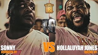 SONNY VS HOLLALUYAH JONES | URLTV